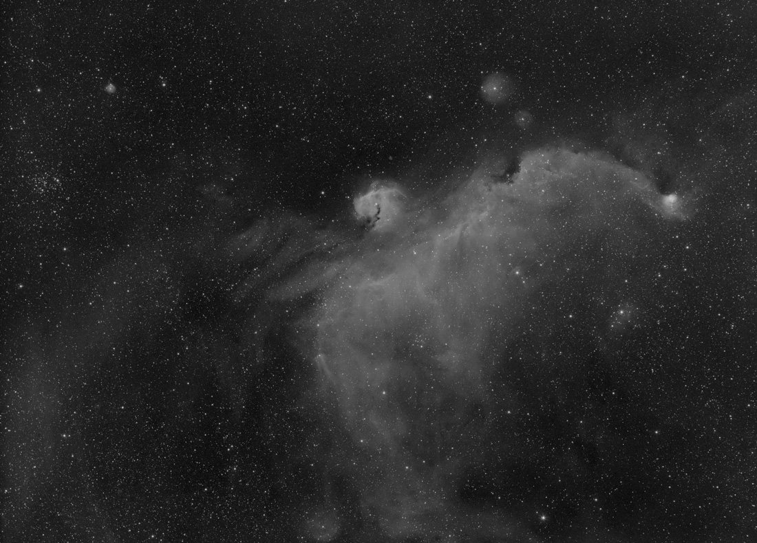 Image of IC2177, H-alpha only
