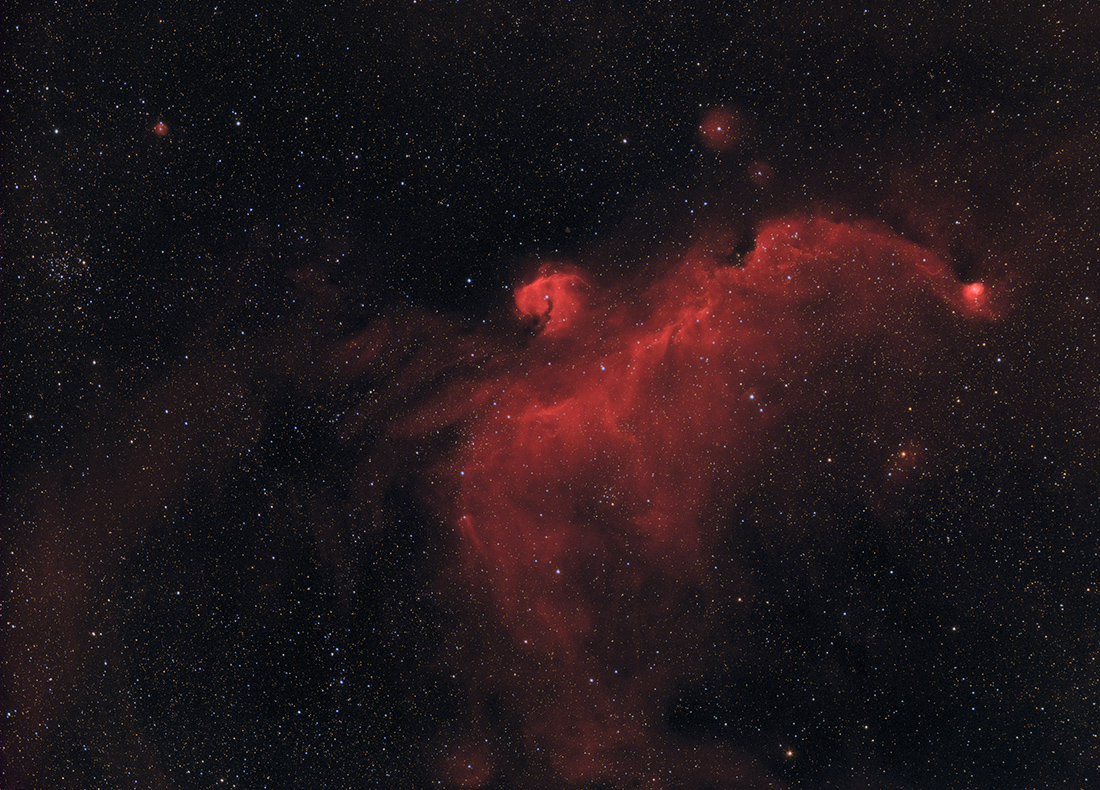 Image of IC2177, HaRGB